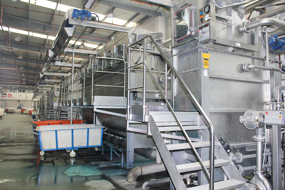 Lixin high temperature and high pressure dyeing machine production line